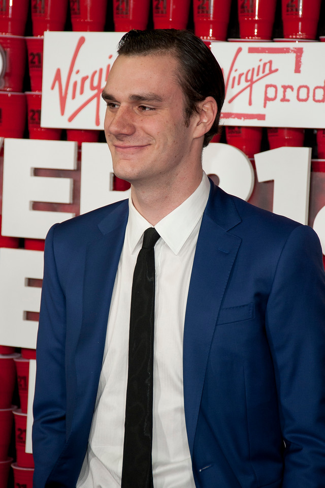 WESTWOOD, CA - FEBRUARY 21: Cooper Hefner attends Relativity Media's '21 and Over' premiere at Westwood Village Theatre on Thursday, February 21, 2013 in Westwood, California. (Photo by Tom Sorensen/Moovieboy Pictures)