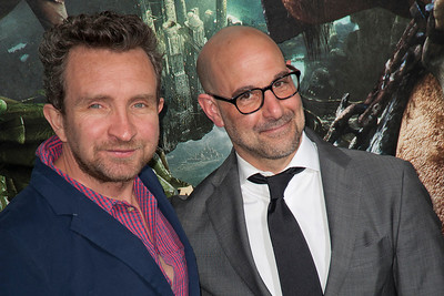 HOLLYWOOD, CA - FEBRUARY 26: Actors Eddie Marsan (L) and Stanley Tucci attend the premiere of New Line Cinema's 'Jack The Giant Slayer' at TCL Chinese Theatre on Tuesday, February 26, 2013 in Hollywood, California. (Photo by Tom Sorensen/Moovieboy Pictures)
