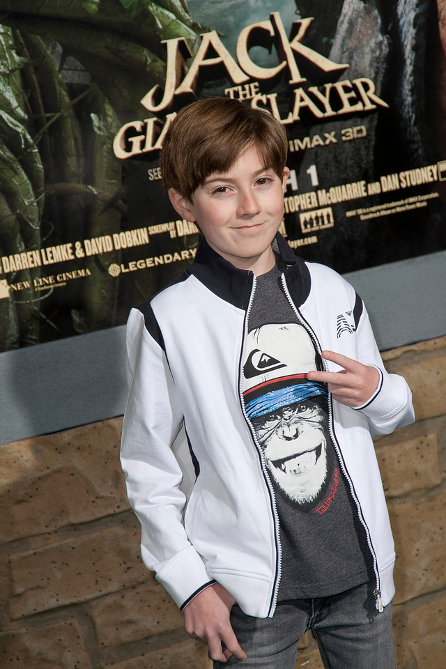 HOLLYWOOD, CA - FEBRUARY 26: Actor Mason Cook attends the premiere of New Line Cinema's 'Jack The Giant Slayer' at TCL Chinese Theatre on Tuesday, February 26, 2013 in Hollywood, California. (Photo by Tom Sorensen/Moovieboy Pictures)