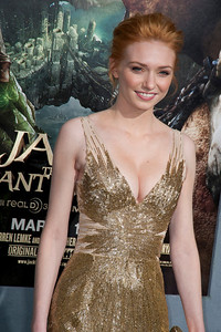 HOLLYWOOD, CA - FEBRUARY 26: Actress Eleanor Tomlinson attends the premiere of New Line Cinema's 'Jack The Giant Slayer' at TCL Chinese Theatre on Tuesday, February 26, 2013 in Hollywood, California. (Photo by Tom Sorensen/Moovieboy Pictures)