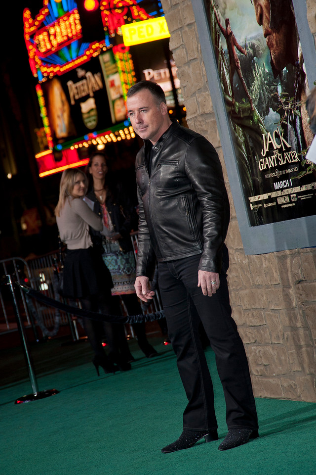 HOLLYWOOD, CA - FEBRUARY 26: Filmmaker David Furnish attends the premiere of New Line Cinema's 'Jack The Giant Slayer' at TCL Chinese Theatre on Tuesday, February 26, 2013 in Hollywood, California. (Photo by Tom Sorensen/Moovieboy Pictures)