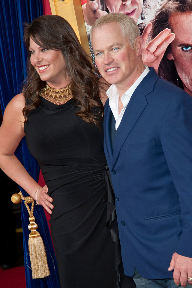 HOLLYWOOD, CA - MARCH 11: Actor Neal McDonough (R) and Ruve McDonough attend the premiere of Warner Bros. Pictures' 'The Incredible Burt Wonderstone' at TCL Chinese Theatre on Monday, March 11, 2013 in Hollywood, California. (Photo by Tom Sorensen/Moovieboy Pictures)