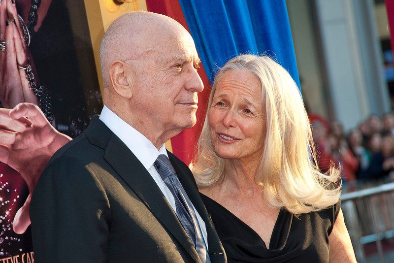 HOLLYWOOD, CA - MARCH 11: Actor Alan Arkin (L) and wife Suzanne Arkin attend the premiere of Warner Bros. Pictures' 'The Incredible Burt Wonderstone' at TCL Chinese Theatre on Monday, March 11, 2013 in Hollywood, California. (Photo by Tom Sorensen/Moovieboy Pictures)