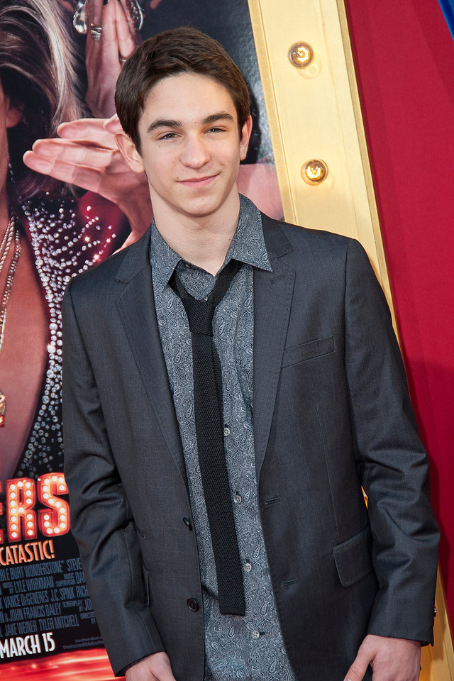 HOLLYWOOD, CA - MARCH 11: Actor Zachary Gordon attends the premiere of Warner Bros. Pictures' 'The Incredible Burt Wonderstone' at TCL Chinese Theatre on Monday, March 11, 2013 in Hollywood, California. (Photo by Tom Sorensen/Moovieboy Pictures)