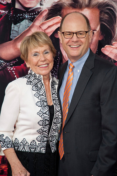 HOLLYWOOD, CA - MARCH 11: Charlie Hartsock (R) and his mother attend the premiere of Warner Bros. Pictures' 'The Incredible Burt Wonderstone' at TCL Chinese Theatre on Monday, March 11, 2013 in Hollywood, California. (Photo by Tom Sorensen/Moovieboy Pictures)