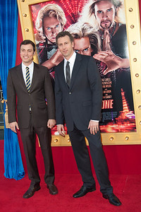HOLLYWOOD, CA - MARCH 11: Writers John Francis Daley (L) and Jonathan M. Goldstein attend the premiere of Warner Bros. Pictures' 'The Incredible Burt Wonderstone' at TCL Chinese Theatre on Monday, March 11, 2013 in Hollywood, California. (Photo by Tom Sorensen/Moovieboy Pictures)