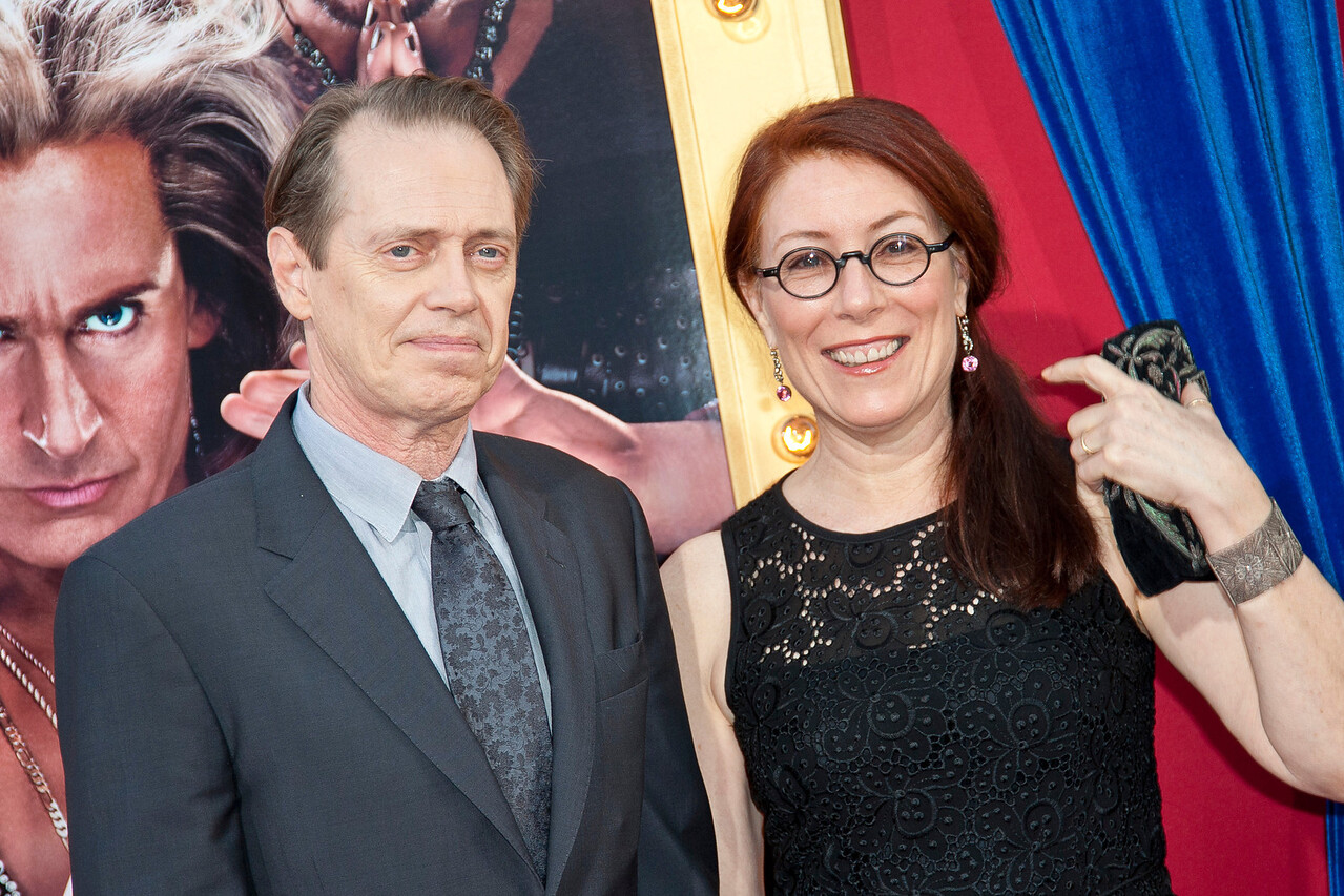 HOLLYWOOD, CA - MARCH 11: Actor Steve Buscemi and Jo Andres attend the premiere of Warner Bros. Pictures' 'The Incredible Burt Wonderstone' at TCL Chinese Theatre on Monday, March 11, 2013 in Hollywood, California. (Photo by Tom Sorensen/Moovieboy Pictures)