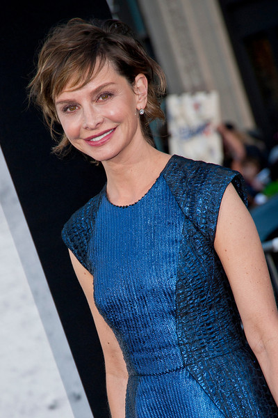 HOLLYWOOD, CA - APRIL 09: Actress Calista Flockhart attends the Los Angeles Premiere of Warner Bros. Pictures' and Legendary Pictures' '42' at TCL Chinese Theatre on Tuesday, April 9, 2013 in Hollywood, California. (Photo by Tom Sorensen/Moovieboy Pictures)