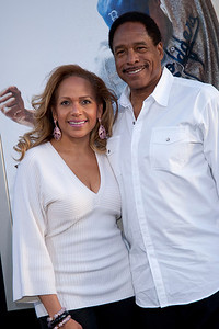 HOLLYWOOD, CA - APRIL 09: Tonya Winfield and former Baseball Player Dave Winfield attend the Los Angeles Premiere of Warner Bros. Pictures' and Legendary Pictures' '42' at TCL Chinese Theatre on Tuesday, April 9, 2013 in Hollywood, California. (Photo by Tom Sorensen/Moovieboy Pictures)
