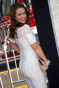 HOLLYWOOD, CA - APRIL 09: Actress Alyssa Milano attends the Los Angeles Premiere of Warner Bros. Pictures' and Legendary Pictures' '42' at TCL Chinese Theatre on Tuesday, April 9, 2013 in Hollywood, California. (Photo by Tom Sorensen/Moovieboy Pictures)