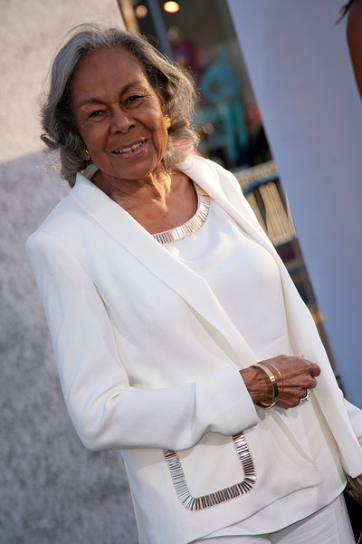 HOLLYWOOD, CA - APRIL 09: Widow of baseball player Jackie Robinson, Rachel Robinson attends the Los Angeles Premiere of Warner Bros. Pictures' and Legendary Pictures' '42' at TCL Chinese Theatre on Tuesday, April 9, 2013 in Hollywood, California. (Photo by Tom Sorensen/Moovieboy Pictures)