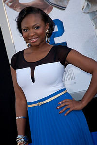 HOLLYWOOD, CA - APRIL 09: Actress Naturi Naughton attends the Los Angeles Premiere of Warner Bros. Pictures' and Legendary Pictures' '42' at TCL Chinese Theatre on Tuesday, April 9, 2013 in Hollywood, California. (Photo by Tom Sorensen/Moovieboy Pictures)