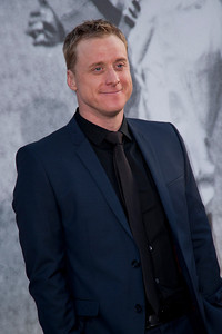 HOLLYWOOD, CA - APRIL 09: Actor Alan Tudyk attends the Los Angeles Premiere of Warner Bros. Pictures' and Legendary Pictures' '42' at TCL Chinese Theatre on Tuesday, April 9, 2013 in Hollywood, California. (Photo by Tom Sorensen/Moovieboy Pictures)