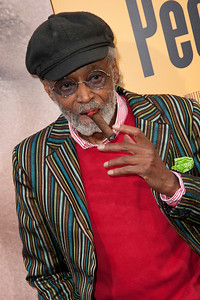 HOLLYWOOD, CA - MAY 08: Actor Melvin Van Peebles attends the premiere of 'Peeples' presented by Lionsgate Film and Tyler Perry at ArcLight Hollywood on Wednesday, May 8, 2013 in Hollywood, California. (Photo by Tom Sorensen/Moovieboy Pictures)