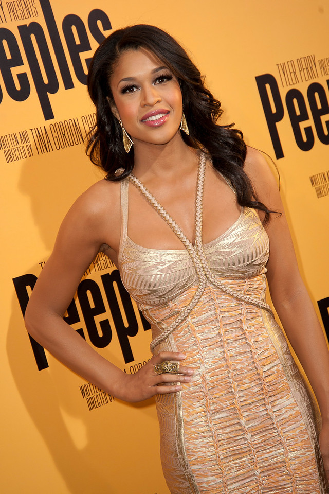 HOLLYWOOD, CA - MAY 08: Actress Kali Hawk attends the premiere of 'Peeples' presented by Lionsgate Film and Tyler Perry at ArcLight Hollywood on Wednesday, May 8, 2013 in Hollywood, California. (Photo by Tom Sorensen/Moovieboy Pictures)