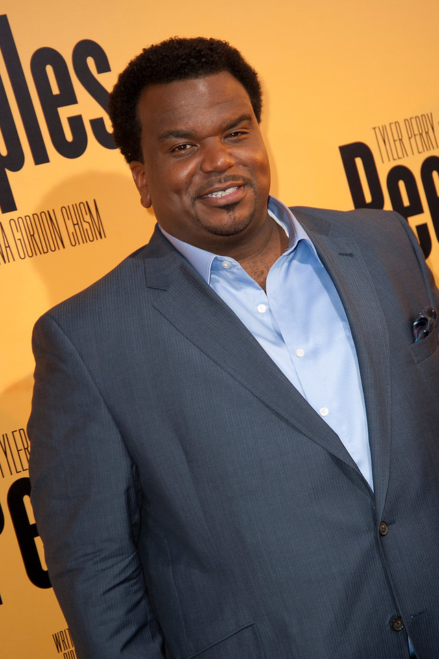 HOLLYWOOD, CA - MAY 08: Actor Craig Robinson attends the premiere of 'Peeples' presented by Lionsgate Film and Tyler Perry at ArcLight Hollywood on Wednesday, May 8, 2013 in Hollywood, California. (Photo by Tom Sorensen/Moovieboy Pictures)