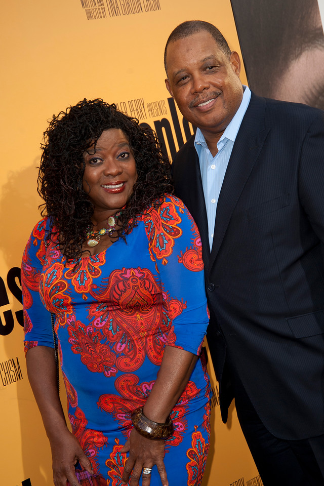 HOLLYWOOD, CA - MAY 08: Actress Loretta Devine and Glenn Marshall attend the premiere of 'Peeples' presented by Lionsgate Film and Tyler Perry at ArcLight Hollywood on Wednesday, May 8, 2013 in Hollywood, California. (Photo by Tom Sorensen/Moovieboy Pictures)