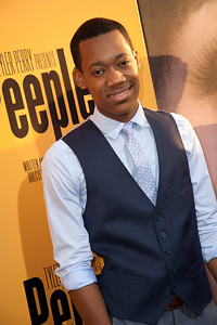 HOLLYWOOD, CA - MAY 08: Actor Tyler James Williams attends the premiere of 'Peeples' presented by Lionsgate Film and Tyler Perry at ArcLight Hollywood on Wednesday, May 8, 2013 in Hollywood, California. (Photo by Tom Sorensen/Moovieboy Pictures)