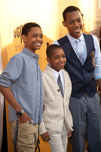 HOLLYWOOD, CA - MAY 08: Actors Tyrel Jackson Williams, Tylen Jacob Williams and Tyler James Williams attends the premiere of 'Peeples' presented by Lionsgate Film and Tyler Perry at ArcLight Hollywood on Wednesday, May 8, 2013 in Hollywood, California. (Photo by Tom Sorensen/Moovieboy Pictures)