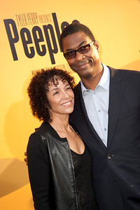 HOLLYWOOD, CA - MAY 08: Producer Stephanie Allain and Executive Music Supervisor Stephen Bray attend the premiere of 'Peeples' presented by Lionsgate Film and Tyler Perry at ArcLight Hollywood on Wednesday, May 8, 2013 in Hollywood, California. (Photo by Tom Sorensen/Moovieboy Pictures)