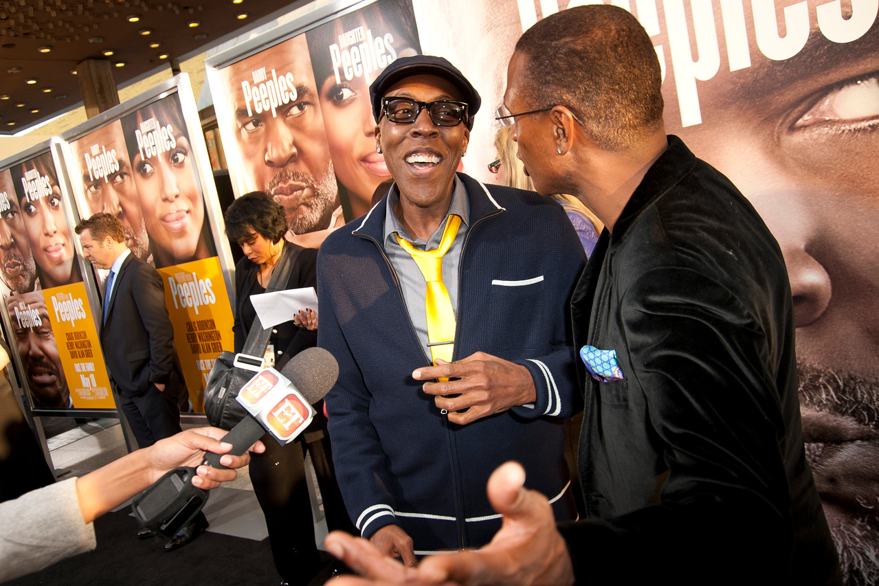 HOLLYWOOD, CA - MAY 08: Actors Arsenio Hall and Tommy Davidson attend the premiere of 'Peeples' presented by Lionsgate Film and Tyler Perry at ArcLight Hollywood on Wednesday, May 8, 2013 in Hollywood, California. (Photo by Tom Sorensen/Moovieboy Pictures)