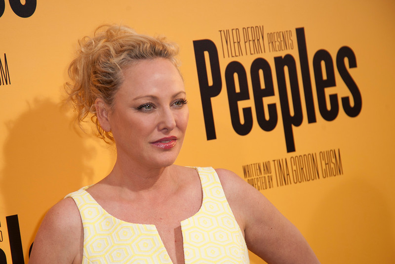 HOLLYWOOD, CA - MAY 08: Actress Virginia Madsen attends the premiere of 'Peeples' presented by Lionsgate Film and Tyler Perry at ArcLight Hollywood on Wednesday, May 8, 2013 in Hollywood, California. (Photo by Tom Sorensen/Moovieboy Pictures)