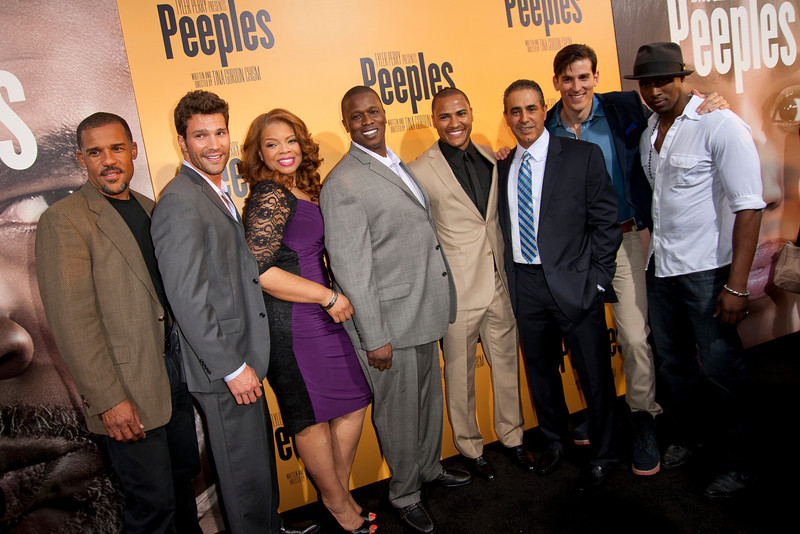 HOLLYWOOD, CA - MAY 08: Actors attend the premiere of 'Peeples' presented by Lionsgate Film and Tyler Perry at ArcLight Hollywood on Wednesday, May 8, 2013 in Hollywood, California. (Photo by Tom Sorensen/Moovieboy Pictures)