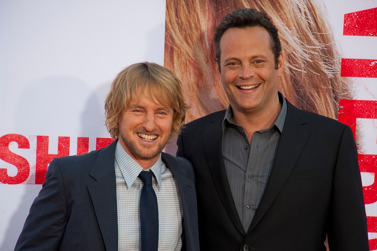 WESTWOOD, CA - MAY 29: Actors Owen Wilson and Vince Vaughn attends the Los Angeles Premiere 'The Internship' at Regency Village Theatre on Wednesday, May 29, 2013 in Westwood, California. (Photo by Tom Sorensen/Moovieboy Pictures)