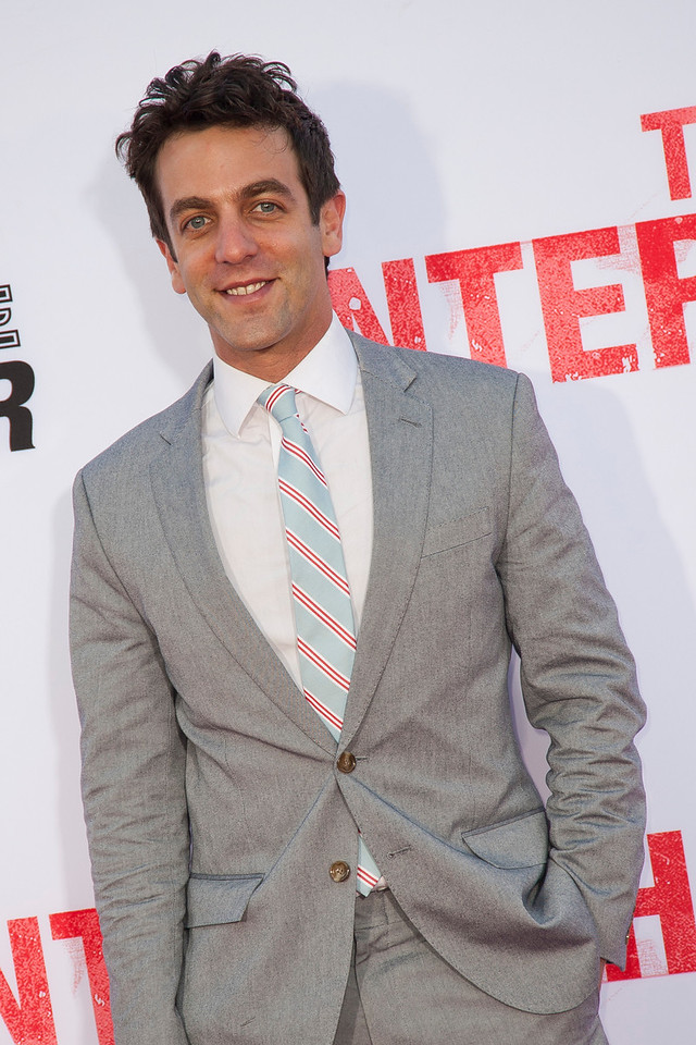 WESTWOOD, CA - MAY 29: Actor B. J. Novak attends the Los Angeles Premiere 'The Internship' at Regency Village Theatre on Wednesday, May 29, 2013 in Westwood, California. (Photo by Tom Sorensen/Moovieboy Pictures)