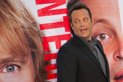 WESTWOOD, CA - MAY 29: Actor Vince Vaughn attends the Los Angeles Premiere 'The Internship' at Regency Village Theatre on Wednesday, May 29, 2013 in Westwood, California. (Photo by Tom Sorensen/Moovieboy Pictures)