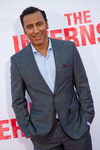 WESTWOOD, CA - MAY 29: Actor Aasif Mandvi attends the Los Angeles Premiere 'The Internship' at Regency Village Theatre on Wednesday, May 29, 2013 in Westwood, California. (Photo by Tom Sorensen/Moovieboy Pictures)