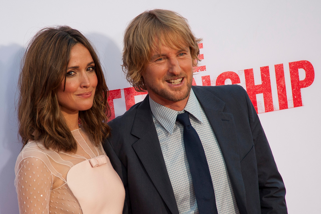 WESTWOOD, CA - MAY 29: Actress Rose Byrne and actor Owen Wilson attend the Los Angeles Premiere 'The Internship' at Regency Village Theatre on Wednesday, May 29, 2013 in Westwood, California. (Photo by Tom Sorensen/Moovieboy Pictures)