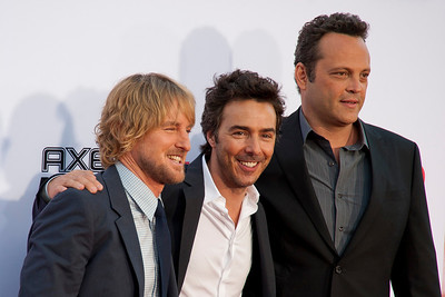 WESTWOOD, CA - MAY 29: Actor Owen Wilson, director Shawn Levy and actor Vince Vaughn attend the Los Angeles Premiere 'The Internship' at Regency Village Theatre on Wednesday, May 29, 2013 in Westwood, California. (Photo by Tom Sorensen/Moovieboy Pictures)