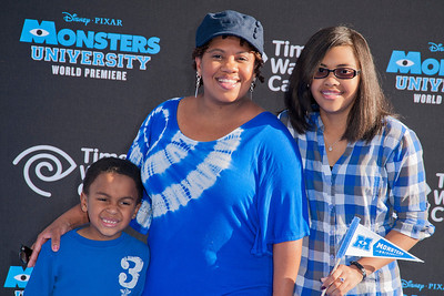 HOLLYWOOD, CA - JUNE 17: Actress Chandra Wilson and guests attend the world premiere of Disney Pixar's 'Monsters University' at the El Capitan Theatre on Monday, June 17, 2013 in Hollywood, California. (Photo by Tom Sorensen/Moovieboy Pictures)