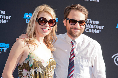HOLLYWOOD, CA - JUNE 17: Actors Mary Elizabeth Ellis and Charlie Day attend the world premiere of Disney Pixar's 'Monsters University' at the El Capitan Theatre on Monday, June 17, 2013 in Hollywood, California. (Photo by Tom Sorensen/Moovieboy Pictures)