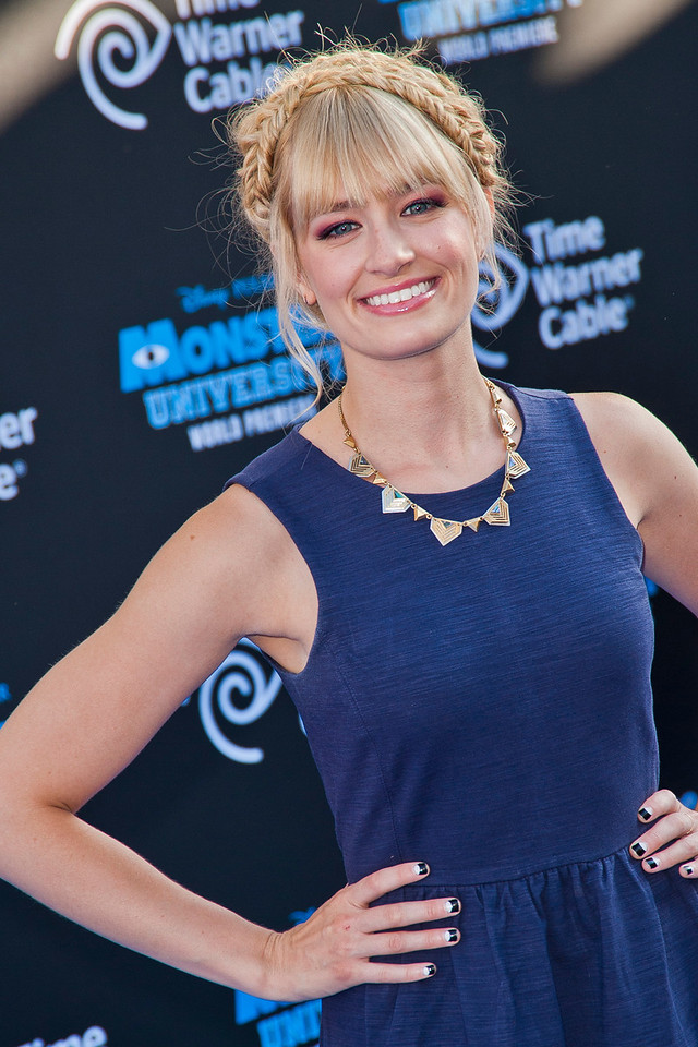 HOLLYWOOD, CA - JUNE 17: Actress Beth Behrs attends the world premiere of Disney Pixar's 'Monsters University' at the El Capitan Theatre on Monday, June 17, 2013 in Hollywood, California. (Photo by Tom Sorensen/Moovieboy Pictures)