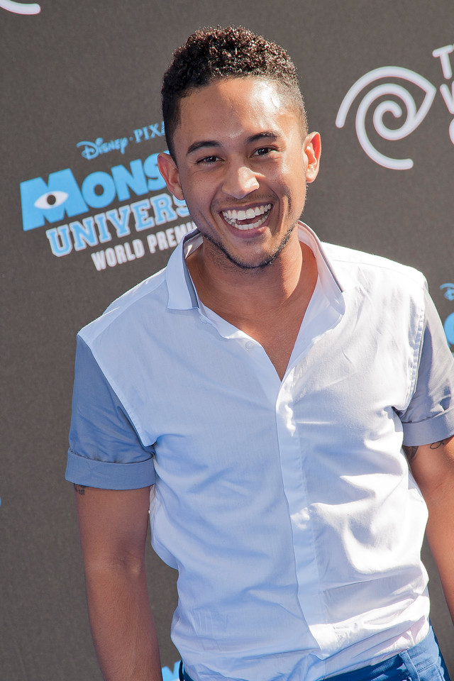 HOLLYWOOD, CA - JUNE 17: Tahj Mowry attends the world premiere of Disney Pixar's 'Monsters University' at the El Capitan Theatre on Monday, June 17, 2013 in Hollywood, California. (Photo by Tom Sorensen/Moovieboy Pictures)