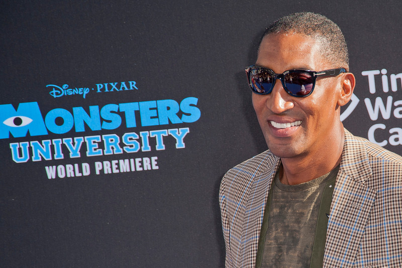 HOLLYWOOD, CA - JUNE 17: Former basketball player Scottie Pippen attends the world premiere of Disney Pixar's 'Monsters University' at the El Capitan Theatre on Monday, June 17, 2013 in Hollywood, California. (Photo by Tom Sorensen/Moovieboy Pictures)