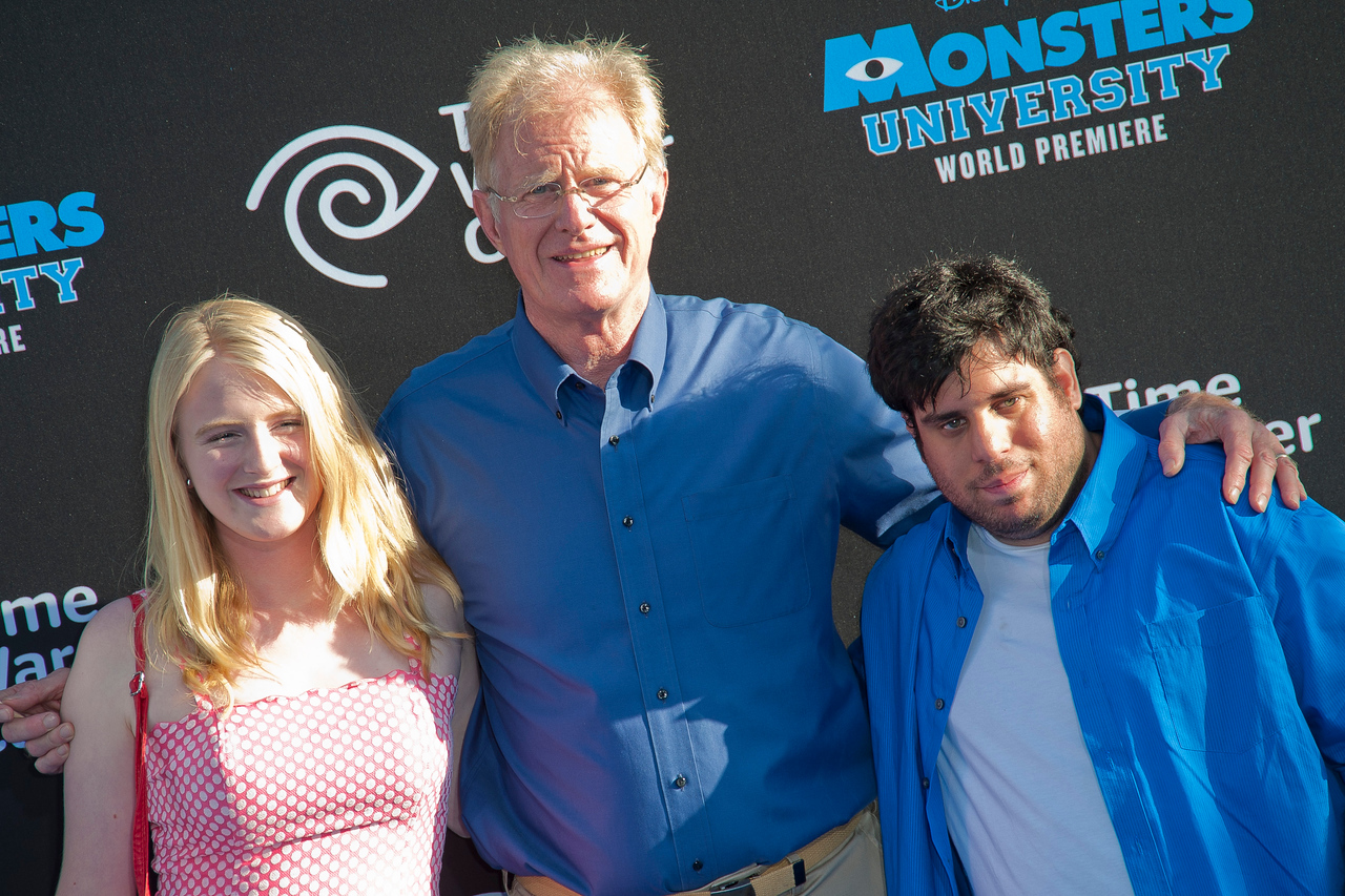 HOLLYWOOD, CA - JUNE 17: Actor Ed Begley, Jr. and guests attend the world premiere of Disney Pixar's 'Monsters University' at the El Capitan Theatre on Monday, June 17, 2013 in Hollywood, California. (Photo by Tom Sorensen/Moovieboy Pictures)