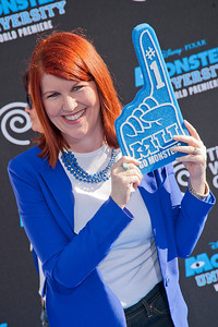 HOLLYWOOD, CA - JUNE 17: Actress Kate Flannery attends the world premiere of Disney Pixar's 'Monsters University' at the El Capitan Theatre on Monday, June 17, 2013 in Hollywood, California. (Photo by Tom Sorensen/Moovieboy Pictures)
