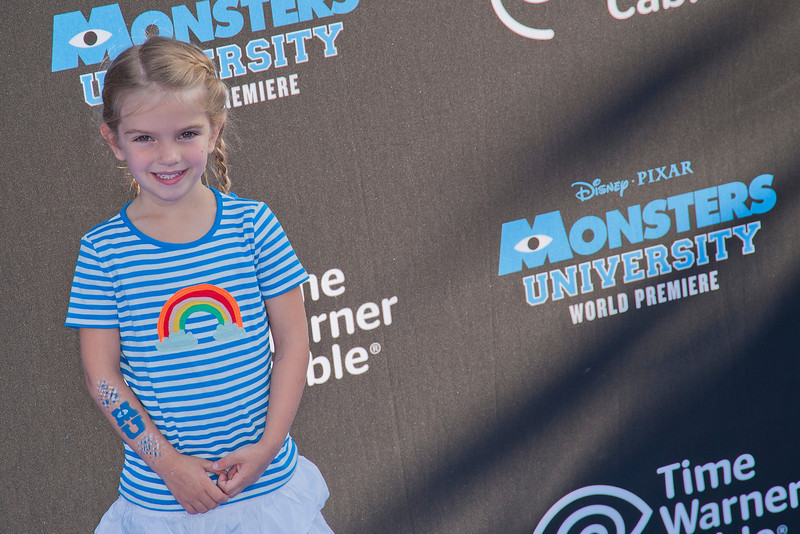 HOLLYWOOD, CA - JUNE 17: Actress Mia Talerico attends the world premiere of Disney Pixar's 'Monsters University' at the El Capitan Theatre on Monday, June 17, 2013 in Hollywood, California. (Photo by Tom Sorensen/Moovieboy Pictures)