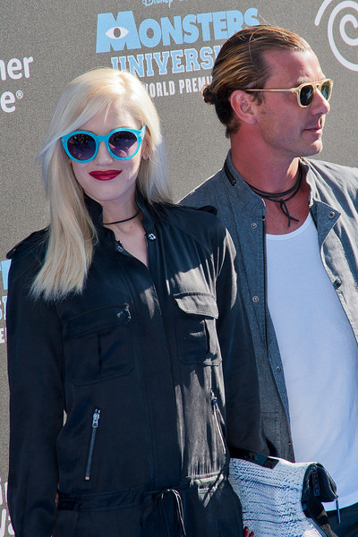 HOLLYWOOD, CA - JUNE 17: Gwen Stefani and Gavin Rossdale attend the world premiere of Disney Pixar's 'Monsters University' at the El Capitan Theatre on Monday, June 17, 2013 in Hollywood, California. (Photo by Tom Sorensen/Moovieboy Pictures)