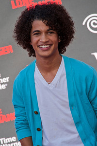 ANAHEIM, CA - JUNE 22: Actor Jordan Fisher attends the premiere of Walt Disney Pictures' 'The Lone Ranger' at Disney California Adventure Park on Saturday, June 22, 2013 in Anaheim, California. (Photo by Tom Sorensen/Moovieboy Pictures)