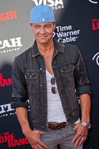 ANAHEIM, CA - JUNE 22: Actor Joey Lawrence attends the premiere of Walt Disney Pictures' 'The Lone Ranger' at Disney California Adventure Park on Saturday, June 22, 2013 in Anaheim, California. (Photo by Tom Sorensen/Moovieboy Pictures)