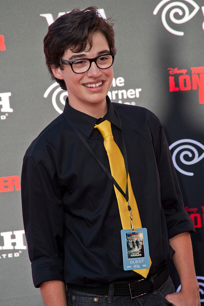 ANAHEIM, CA - JUNE 22: Actor Joey Bragg attends the premiere of Walt Disney Pictures' 'The Lone Ranger' at Disney California Adventure Park on Saturday, June 22, 2013 in Anaheim, California. (Photo by Tom Sorensen/Moovieboy Pictures)