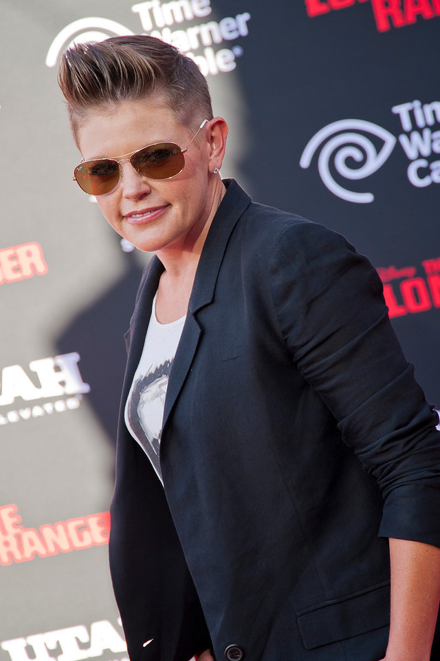 ANAHEIM, CA - JUNE 22: Singer Natalie Maines attends the premiere of Walt Disney Pictures' 'The Lone Ranger' at Disney California Adventure Park on Saturday, June 22, 2013 in Anaheim, California. (Photo by Tom Sorensen/Moovieboy Pictures)