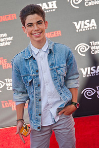ANAHEIM, CA - JUNE 22: Actor Cameron Boyce attends the premiere of Walt Disney Pictures' 'The Lone Ranger' at Disney California Adventure Park on Saturday, June 22, 2013 in Anaheim, California. (Photo by Tom Sorensen/Moovieboy Pictures)