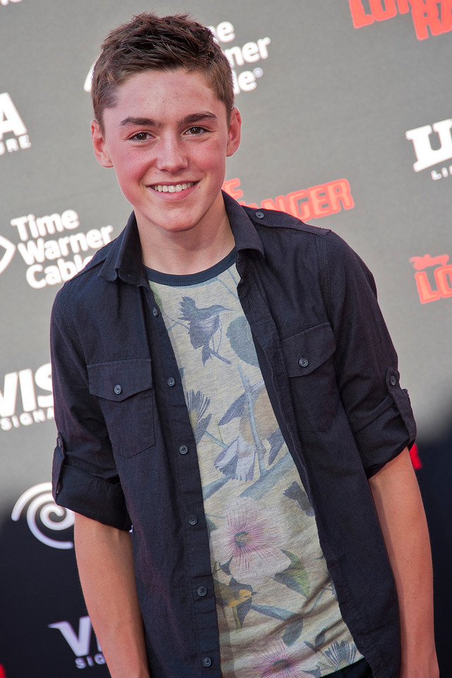 ANAHEIM, CA - JUNE 22: Actor Spencer List attends the premiere of Walt Disney Pictures' 'The Lone Ranger' at Disney California Adventure Park on Saturday, June 22, 2013 in Anaheim, California. (Photo by Tom Sorensen/Moovieboy Pictures)