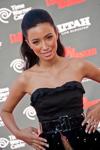 ANAHEIM, CA - JUNE 22: Actress Christian Serratos attends the premiere of Walt Disney Pictures' 'The Lone Ranger' at Disney California Adventure Park on Saturday, June 22, 2013 in Anaheim, California. (Photo by Tom Sorensen/Moovieboy Pictures)