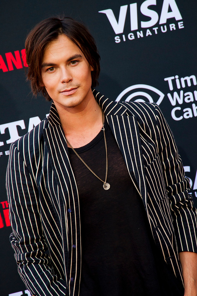 ANAHEIM, CA - JUNE 22: Actor Tyler Blackburn attends the premiere of Walt Disney Pictures' 'The Lone Ranger' at Disney California Adventure Park on Saturday, June 22, 2013 in Anaheim, California. (Photo by Tom Sorensen/Moovieboy Pictures)